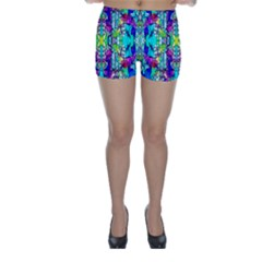 Colorful 60 Skinny Shorts