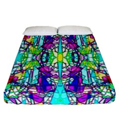 Colorful 60 Fitted Sheet (Queen Size)