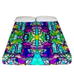Colorful 60 Fitted Sheet (King Size)