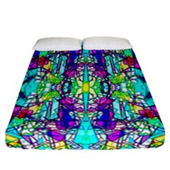 Colorful 60 Fitted Sheet (California King Size)