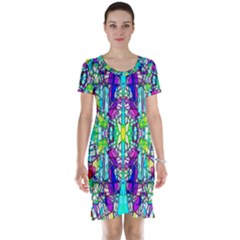 Colorful 60 Short Sleeve Nightdress