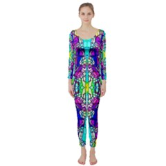 Colorful 60 Long Sleeve Catsuit