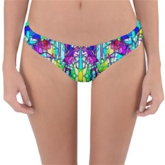 Colorful 60 Reversible Hipster Bikini Bottoms