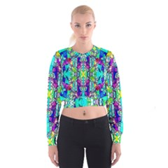 Colorful 60 Cropped Sweatshirt