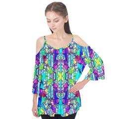 Colorful 60 Flutter Tees