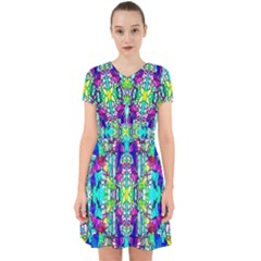 Colorful 60 Adorable in Chiffon Dress