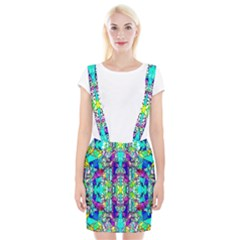 Colorful 60 Braces Suspender Skirt