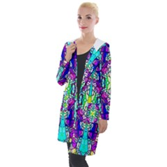 Colorful 60 Hooded Pocket Cardigan