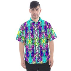 Colorful 60 Men s Short Sleeve Shirt