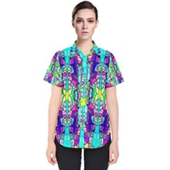 Colorful 60 Women s Short Sleeve Shirt