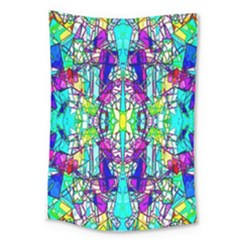 Colorful 60 Large Tapestry