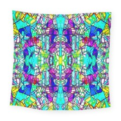 Colorful 60 Square Tapestry (Large)