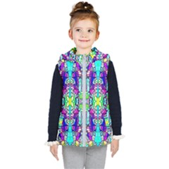Colorful 60 Kids  Hooded Puffer Vest