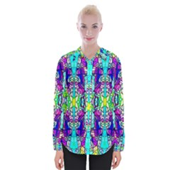 Colorful 60 Womens Long Sleeve Shirt