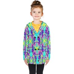Colorful 60 Kids  Double Breasted Button Coat