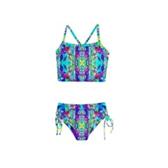 Colorful 60 Girls  Tankini Swimsuit by ArtworkByPatrick