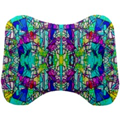 Colorful 60 Head Support Cushion