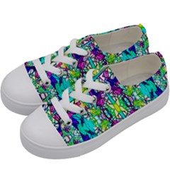 Colorful 60 Kids  Low Top Canvas Sneakers