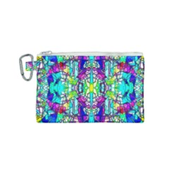 Colorful 60 Canvas Cosmetic Bag (Small)