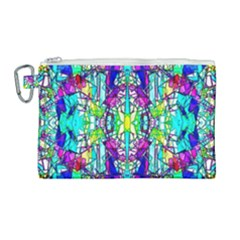 Colorful 60 Canvas Cosmetic Bag (Large)