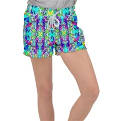 Colorful 60 Women s Velour Lounge Shorts