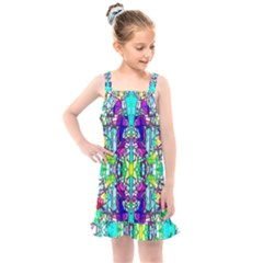 Colorful 60 Kids  Overall Dress