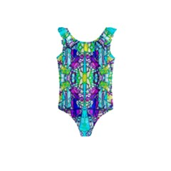 Colorful 60 Kids  Frill Swimsuit