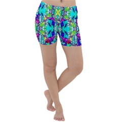 Colorful 60 Lightweight Velour Yoga Shorts
