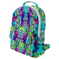 Colorful 60 Flap Pocket Backpack (Small)