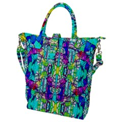 Colorful 60 Buckle Top Tote Bag