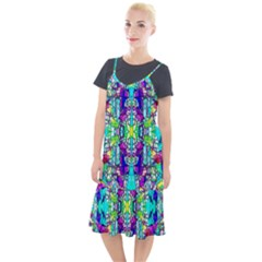 Colorful 60 Camis Fishtail Dress