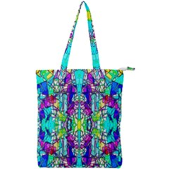 Colorful 60 Double Zip Up Tote Bag
