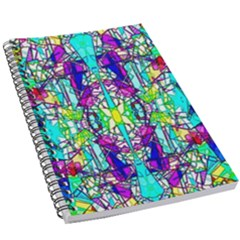 Colorful 60 5.5  x 8.5  Notebook