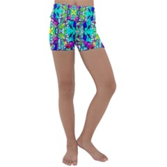 Colorful 60 Kids  Lightweight Velour Yoga Shorts