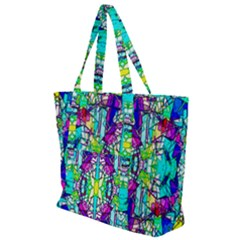 Colorful 60 Zip Up Canvas Bag