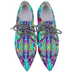 Colorful 60 Women s Pointed Oxford Shoes