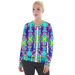 Colorful 60 Velour Zip Up Jacket