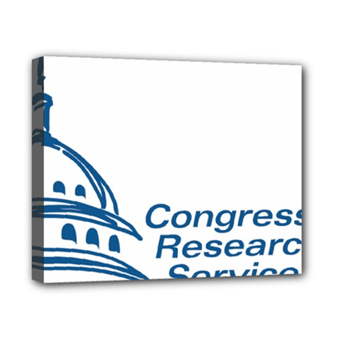 Logo Of Congressional Research Service Canvas 10  X 8  (stretched) by abbeyz71