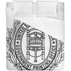 Official Seal Of United States Government Publishing Office Duvet Cover (california King Size) by abbeyz71