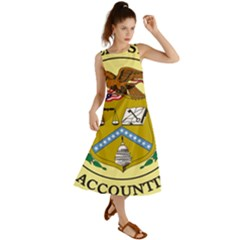 Seal Of United States General Accounting Office, 1921-2004 Summer Maxi Dress