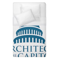 Logo Of United States Architect Of The Capitol Duvet Cover (single Size) by abbeyz71