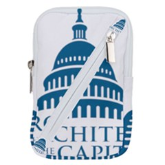 Logo Of United States Architect Of The Capitol Belt Pouch Bag (large)