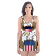 Seal Of United States House Of Representatives Skater Dress Swimsuit by abbeyz71