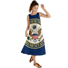 Flag Of United States House Of Representatives Summer Maxi Dress