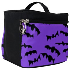 Bats Pattern Make Up Travel Bag (big) by bloomingvinedesign