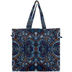 Colorful 64 Canvas Travel Bag