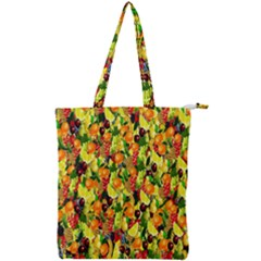 Colorful 65 Double Zip Up Tote Bag by ArtworkByPatrick
