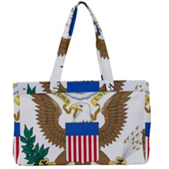 Seal Of Supreme Court Of United States Canvas Work Bag by abbeyz71