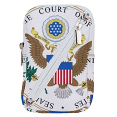 Seal Of Supreme Court Of United States Belt Pouch Bag (small)
