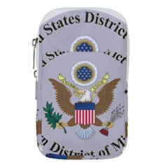 Seal Of United States District Court For Eastern District Of Missouri Waist Pouch (large)
